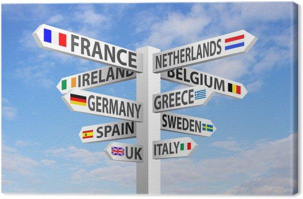 leinwandbilder-europa-wegweiser