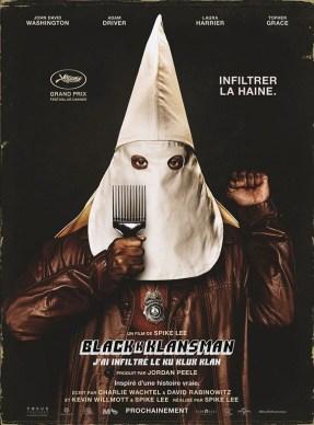 Blackkklansman-poster